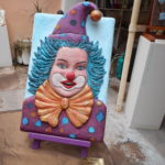 bas relief clown 180 euros